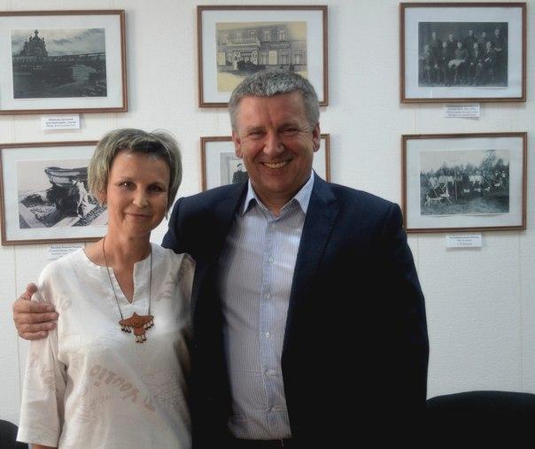 Центр поморской культуры посетил А. П. Худилайнен, Глава Республики Карелия