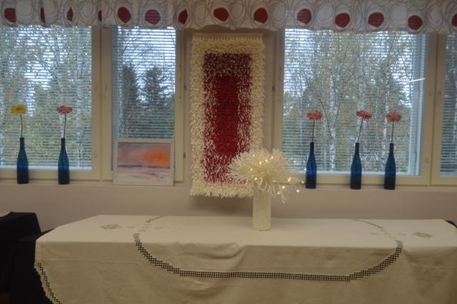 Выставка текстиля в народном училище, г. Хаапавеси, 09.09.2016 г.