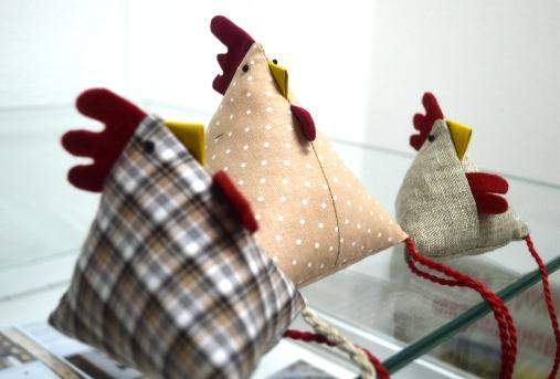 Приглашаем жителей и гостей города на мастер-класс по шитью новогоднего петушка