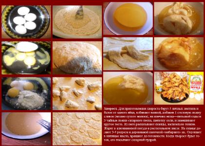 Как готовить хворост рецепт с фото
